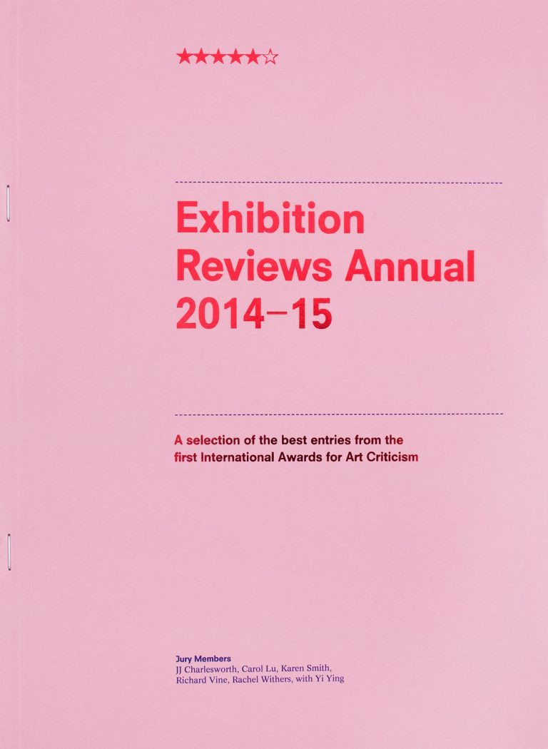 Exhibition Reviews Annual 2014-15