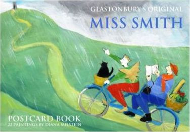 Glastonbury's Original Miss Smith Postcard Book