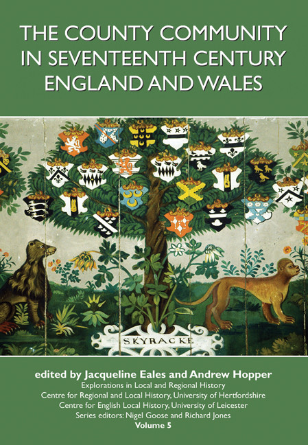 County Community in Seventeenth-century England and Wales,