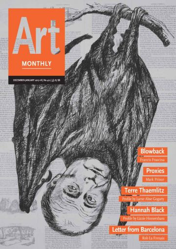 Art Monthly 412 December 2017/January 2018