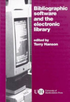 Bibliographic Software & Electronic