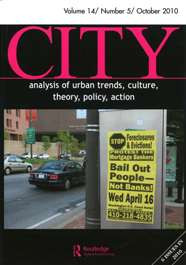 City Volume 14 Number 5 October 2010