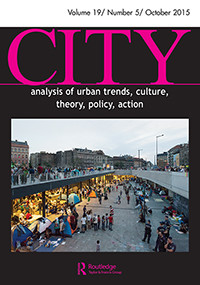 City Volume 19 Number 5 October 2015