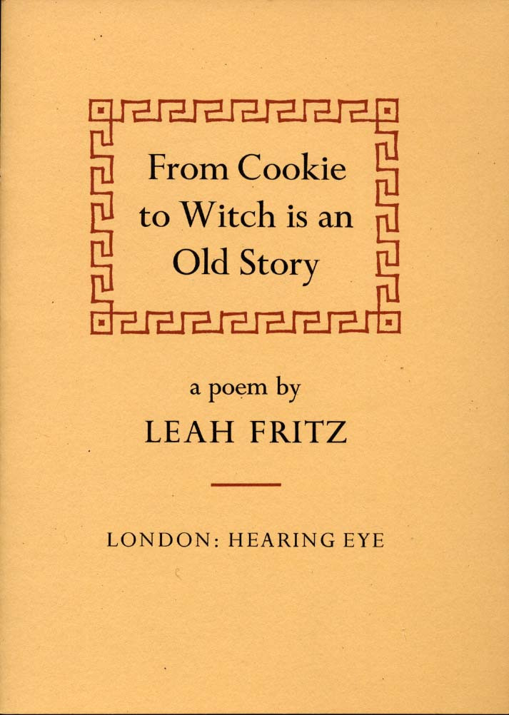 From Cookie to Witch is an Old Story