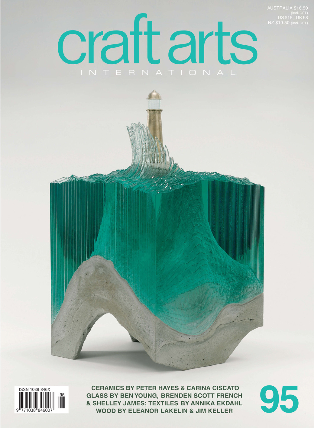Craft Arts International 95 November 2015