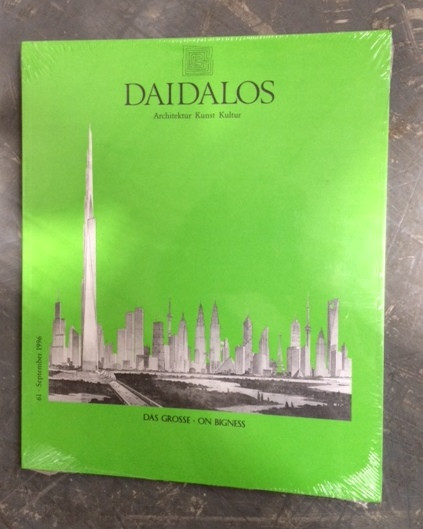 Daidalos 61 - On Bigness