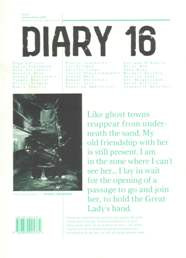 Diary 16 Issue 2 Autumn-Winter 2009