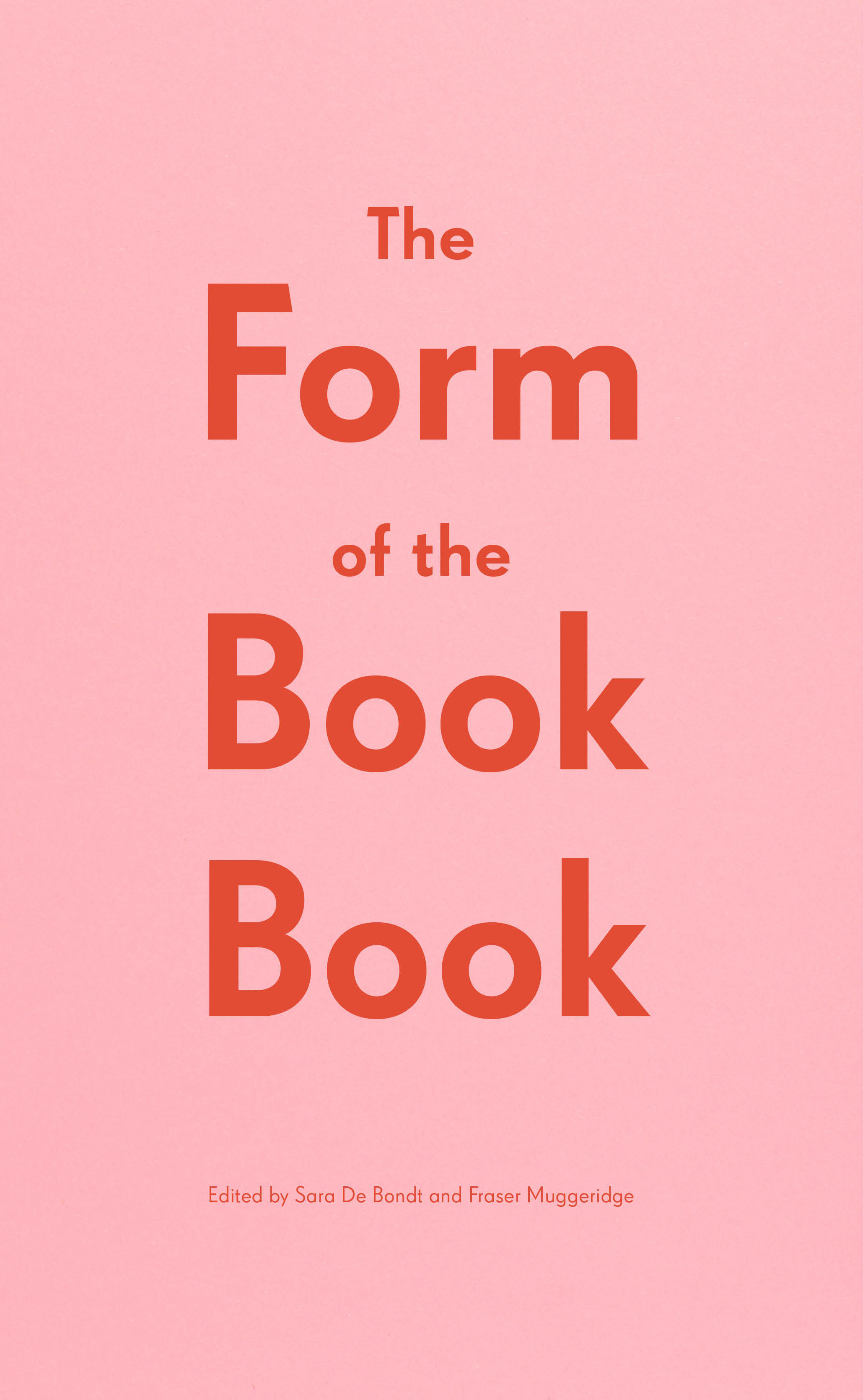 Form of the Book Book, The