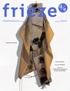 Frieze d/e 21 September/October/November 2015