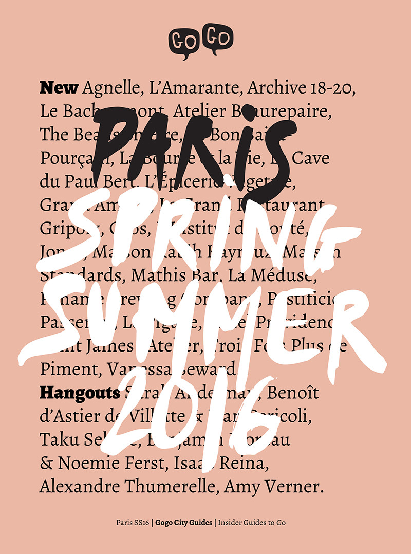 GoGo Paris: Spring/Summer 2016