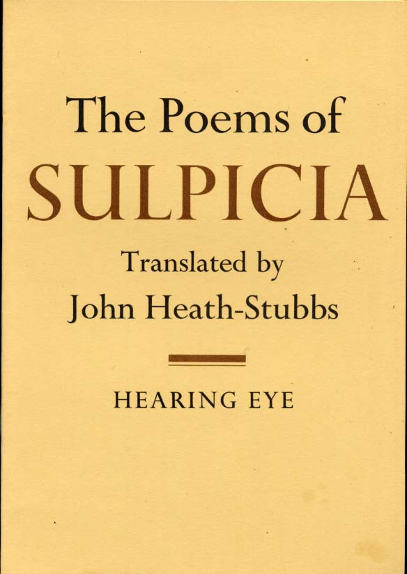 Poems of Sulpicia, The