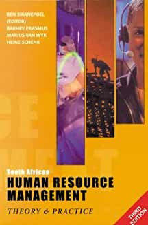South African Human Resource Management: 3rd Edition