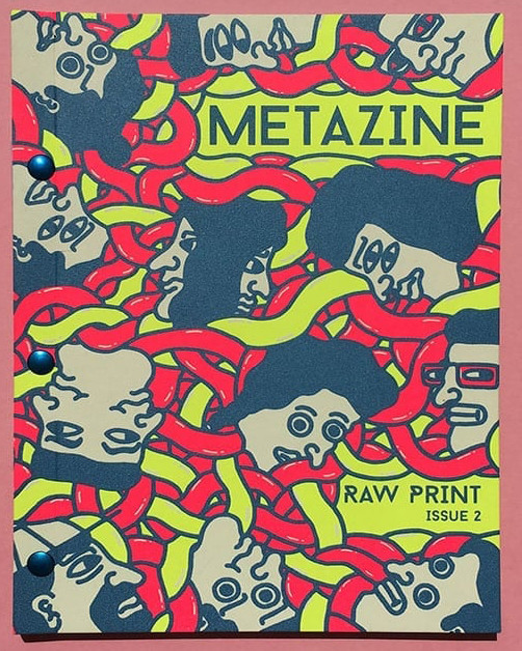 Metazine 2 2020 Raw Print