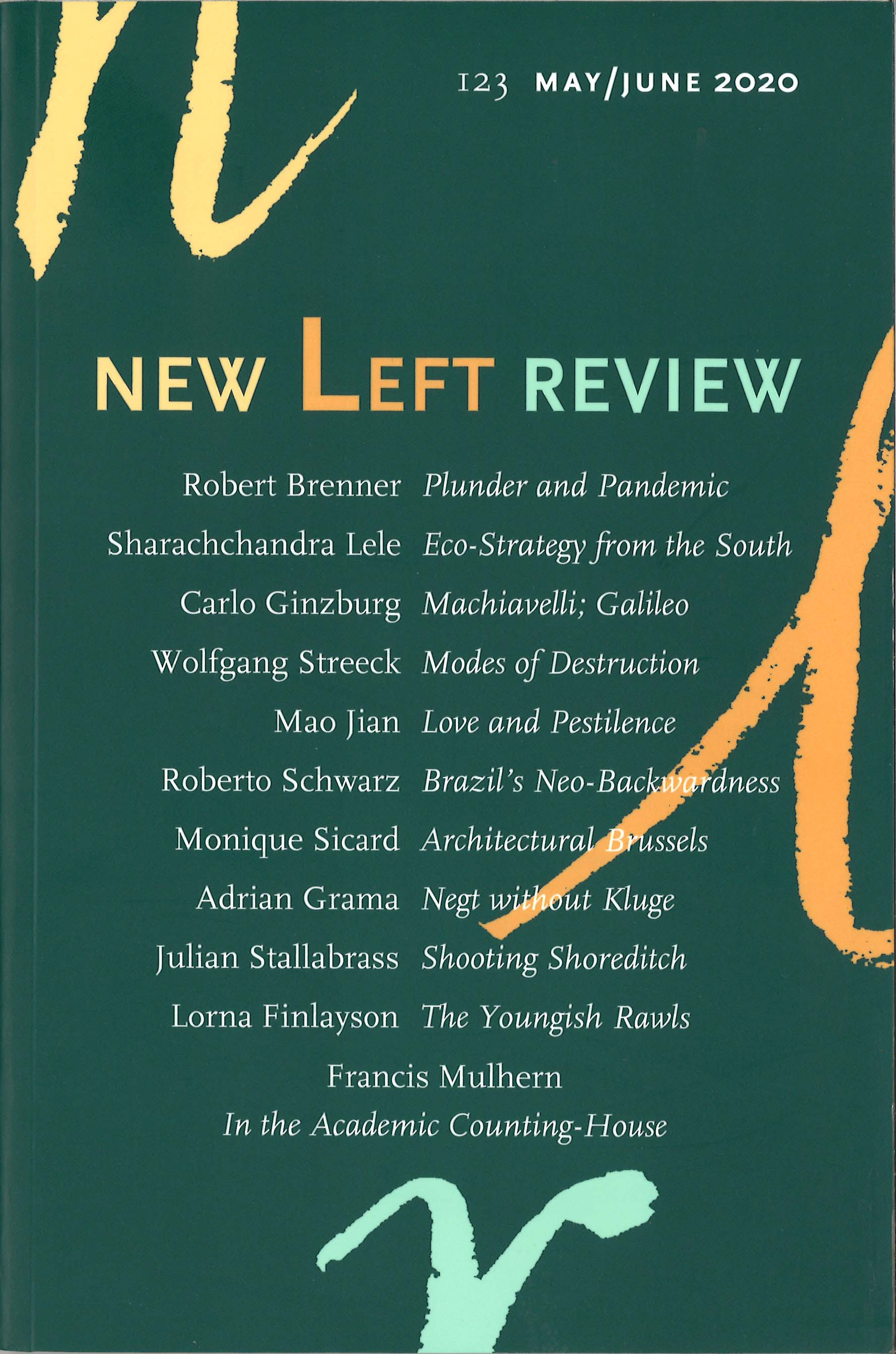 New Left Review 123 May/June 2020
