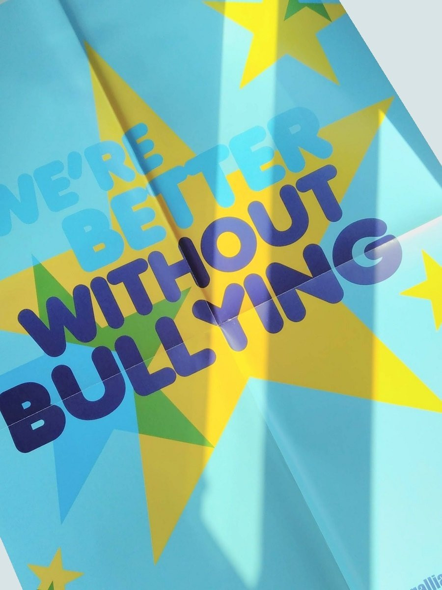 We're better without bullying poster pack (5)