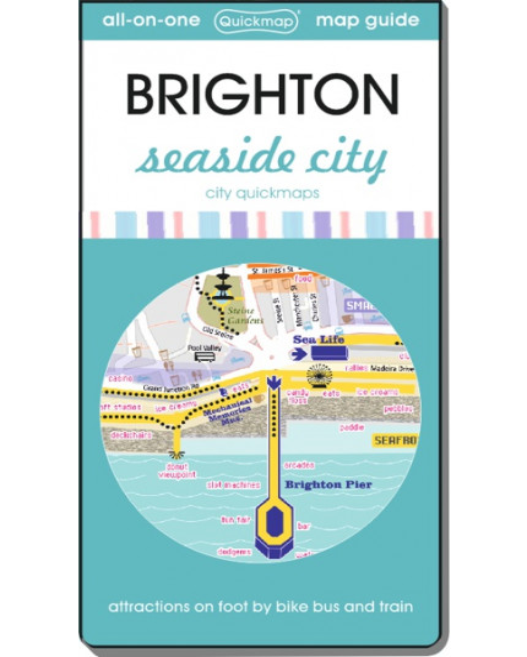 Brighton seaside city: Map & Guide [quickmap]
