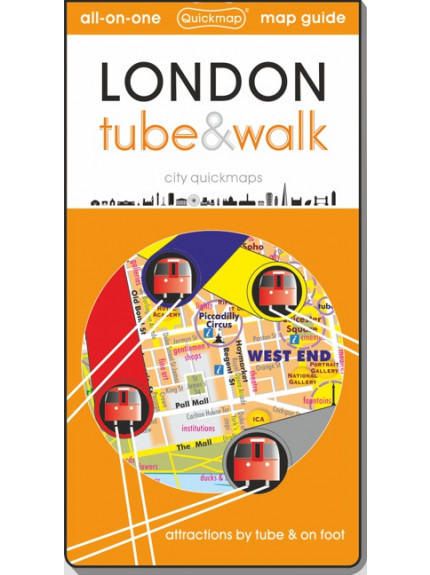 London tube & walk [quickmap] 8th Edition