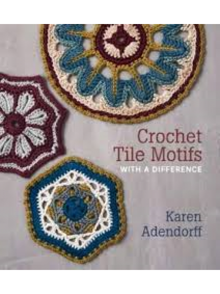 Crochet tile motifs with a difference