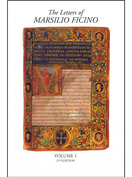 Letters of Marsilio Ficino: [Vols 1-9 ONLY]