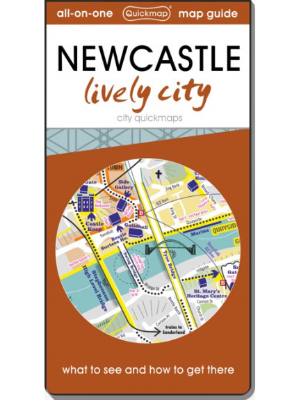 Newcastle Lively City: Map & Guide [quickmap]