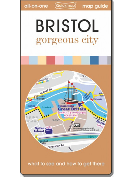 Bristol: gorgeous city - Map & Guide [quickmap]