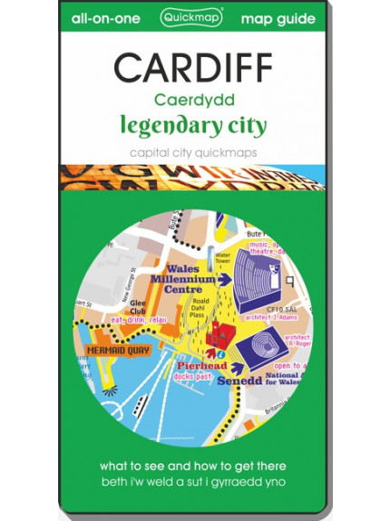 Cardiff Legendary City: Map & Guide [quickmap]
