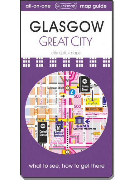 Glasgow: Great City: Map & Guide [quickmap]