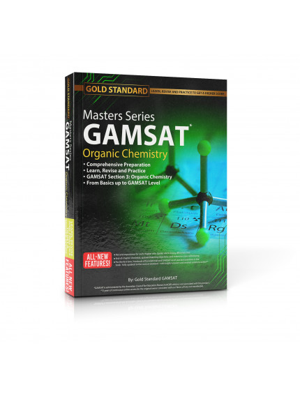 Masters Series GAMSAT Organic Chemistry Preparation by Gold