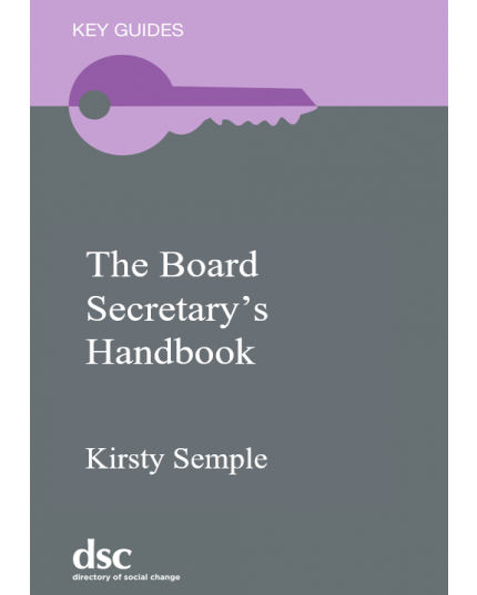 Board Secretary's Handbook