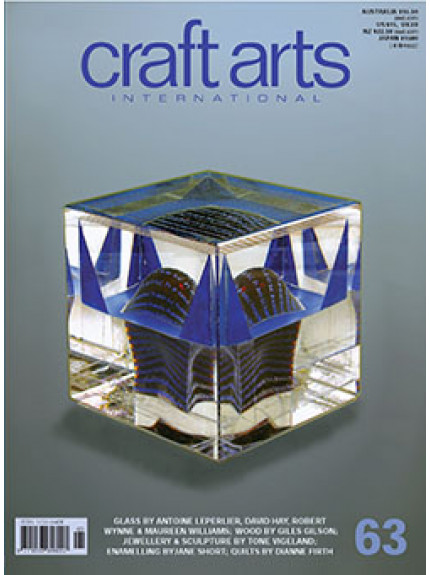 Craft Arts International 63 COVER