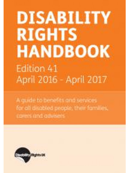 Disability Rights Handbook 41st Edition 2016/2017