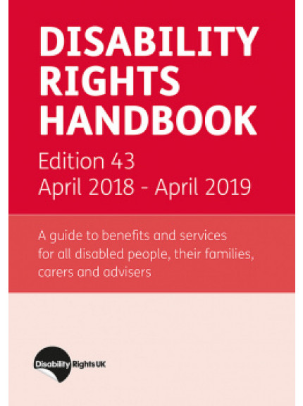 Disability Rights Handbook 43rd Edition 2018/2019