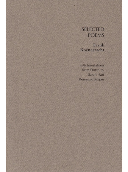 Selected Poems: Frank Koenegracht