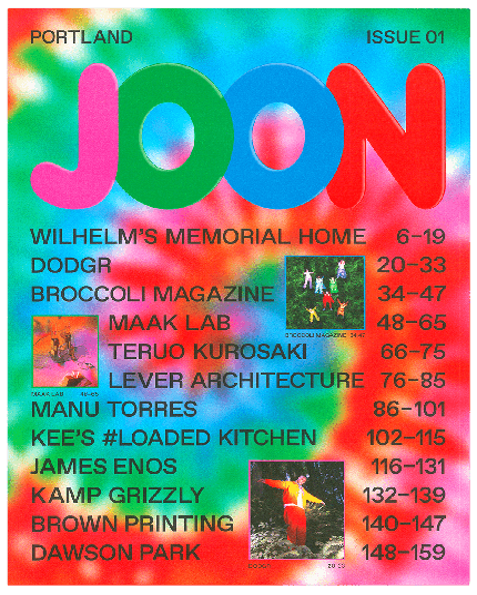 JOON Magazine Issue 01
