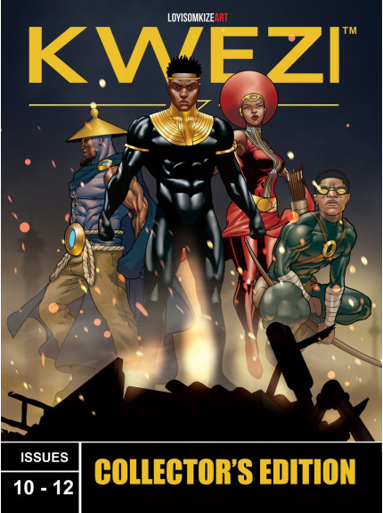 Kwezi Issues 10-12: Collectors Edition