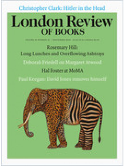 London Review of Books 41/21 07 November 2019