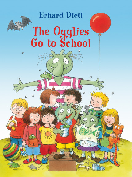 Ogglies Go to School, The 9780994100214 cover