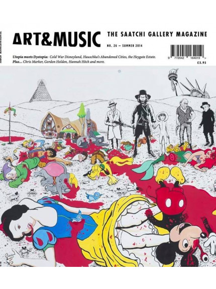 Saatchi Gallery Magazine Art and Music