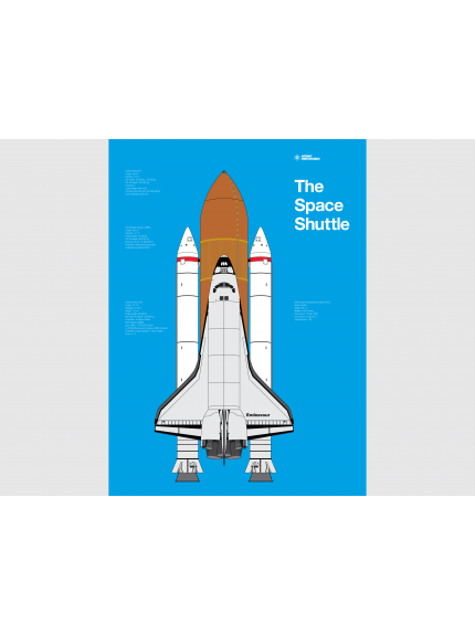 The Space Shuttle Poster