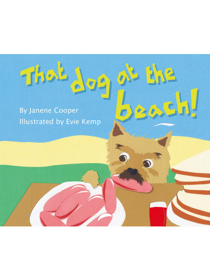 That Dog at the Beach! 9781760360054 cover