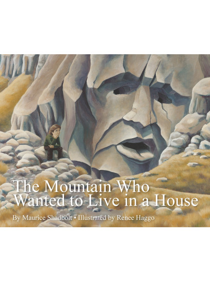 The Mountain Who Wanted to Live in a House 9781760360023 cover