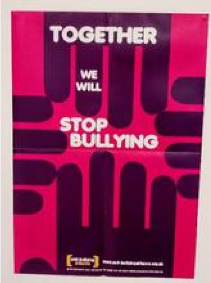 Together we will stop bullying - 5 poster pack